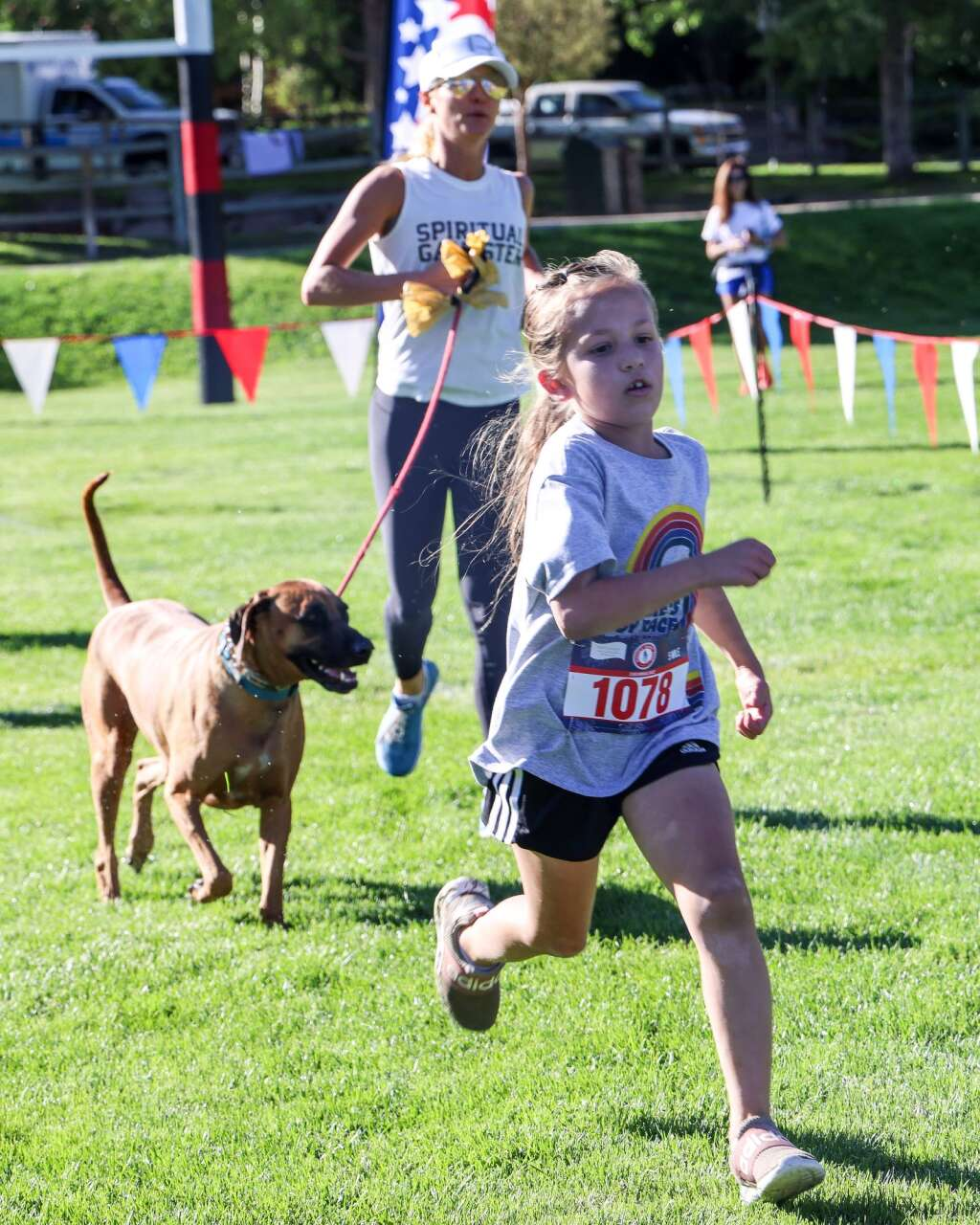 Racers take part in the Boogie's Buddy Race on Sunday, July 4, 2021, at Rio Grande Park in Aspen. Photo by Austin Colbert/The Aspen Times.