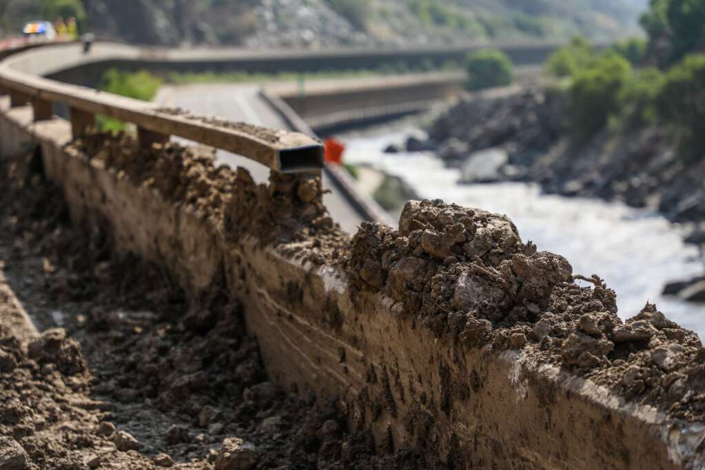 The infrastructure of Interstate 70 was heavily damaged from rock and mudslides. The canyon has been closed to traffic since July 29.   Chris Dillmann/cdillmann@vaildaily.com
