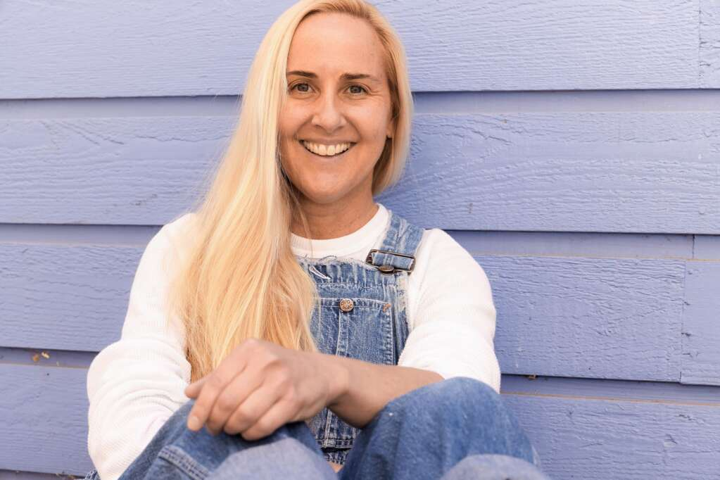 Boulder artist Heather Cherry will be the first to have an exhibit in the Art Base's new location in downtown Basalt. Photo by Austin Colbert/The Aspen Times.