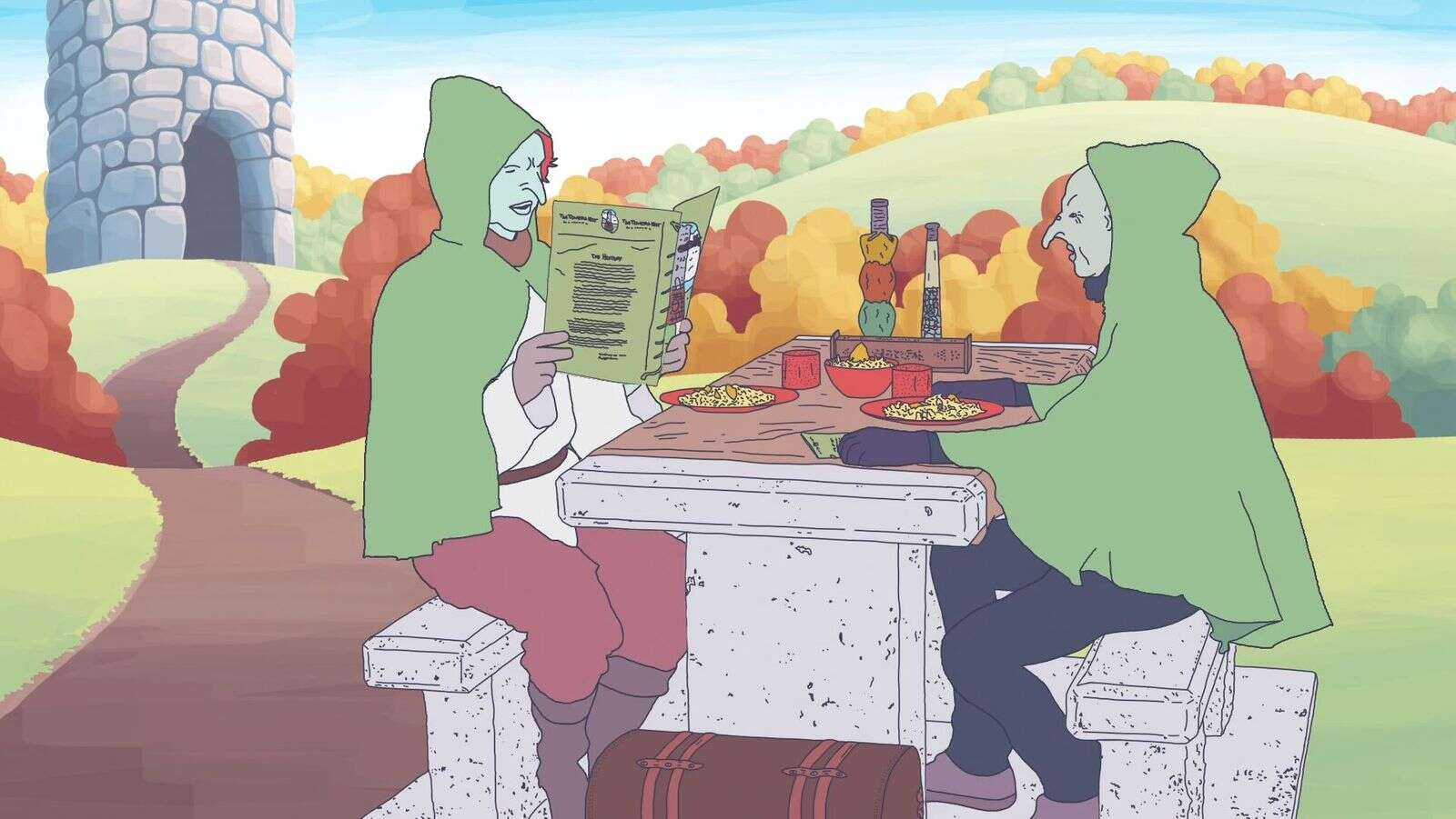 'Chef Giants' cook up an animated entry at this year's Slamdance