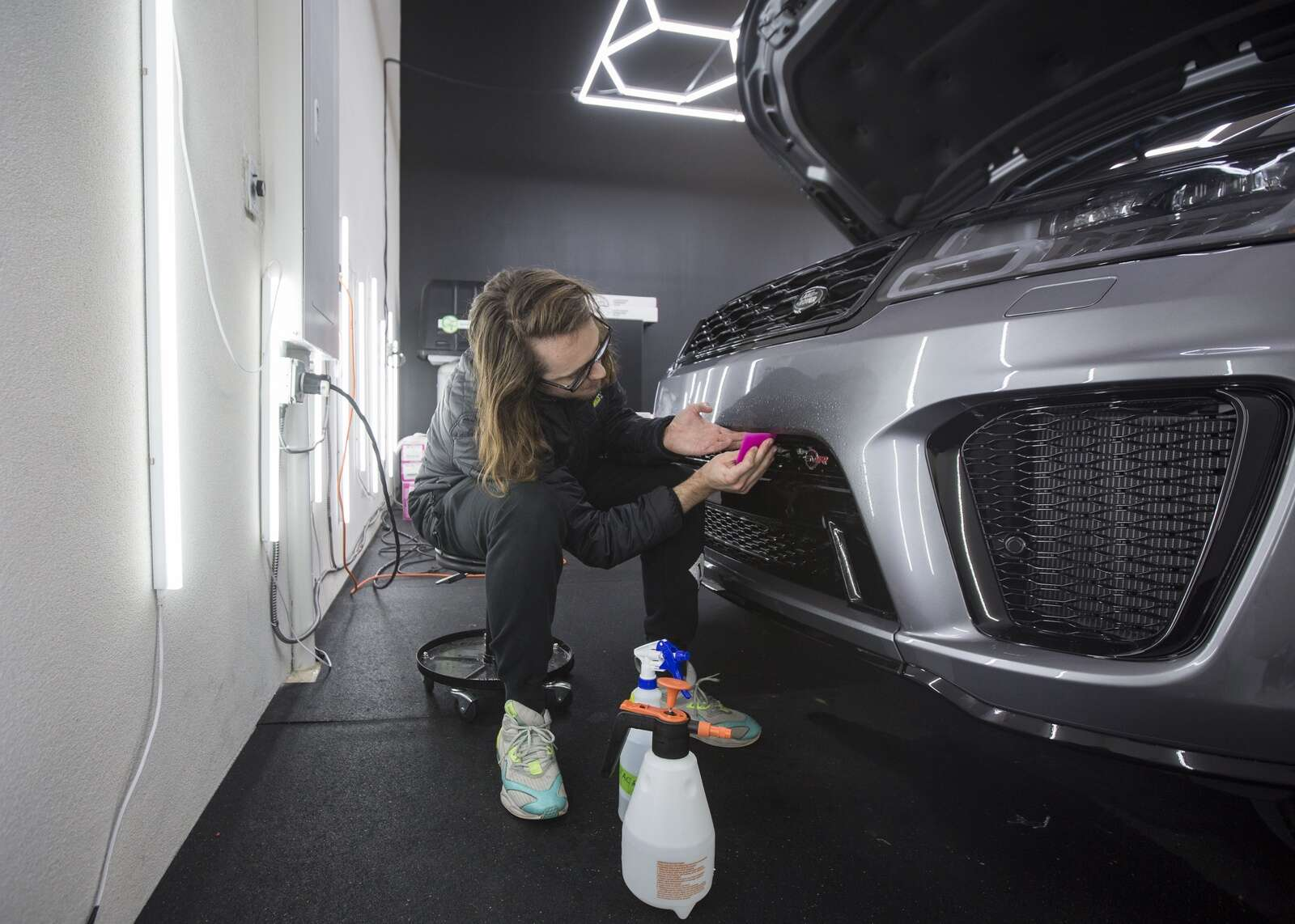 New Mercer Auto Spa offers pampering for Parkites' cars
