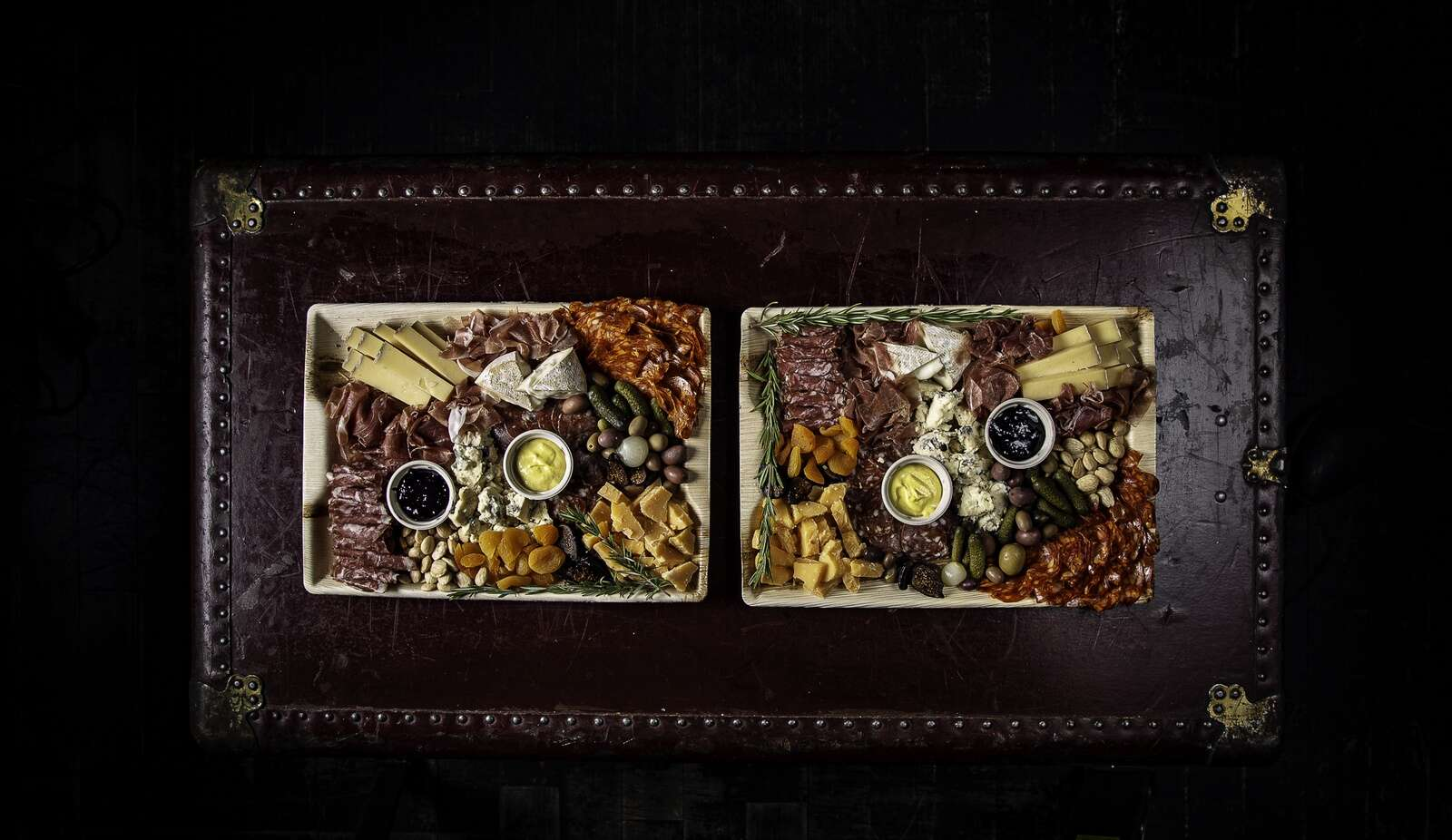 Custom charcuterie creations from Meat & Cheese Farm Shop in Aspen.