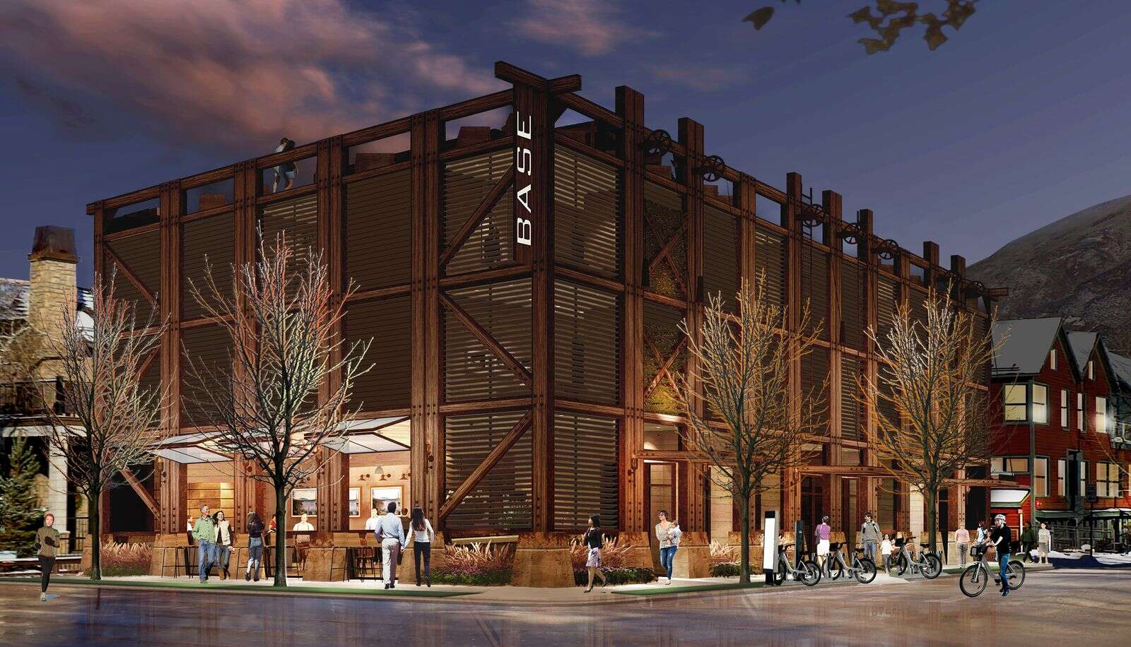 What a new hotel will look like at the corner of Cooper Avenue and Original.