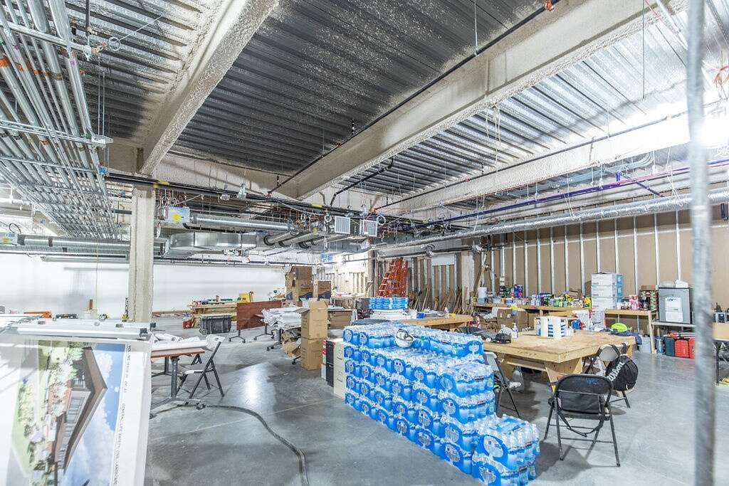 Extra space located within Vail Health's new medical center in Dillon is shown on Friday, August 27, 2021. This space can be turned into a new facility depending on what the center needs in the future.   Photo by Michael Yearout / Michael Yearout Photography