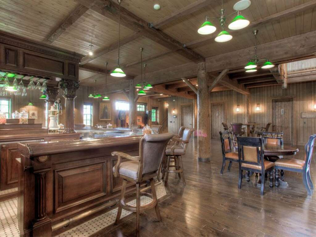 The High Plains Ranch comes with a party barn and saloon for events. | Courtesy High Plains Ranch
