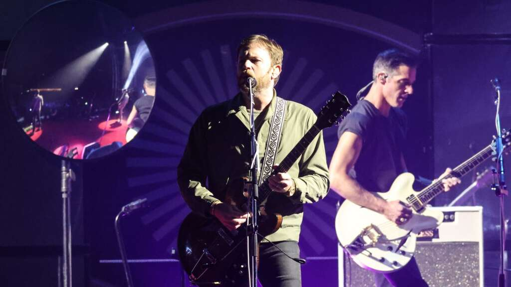 Kings of Leon performs during Jazz Aspen Snowmass on Friday, Sept. 3, 2021, in Snowmass Village. Photo by Austin Colbert/The Aspen Times.