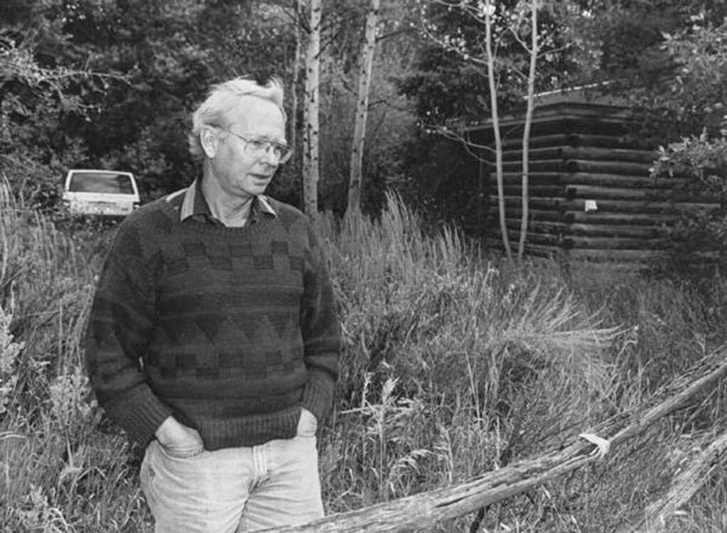 """Bruce Berger, author of """"The Complete Half-Aspenite""""and acclaimed works about the Southwest, died Wednesday at aged 82. (Aspen Times file)"""