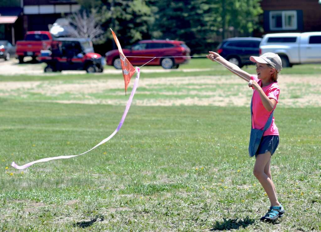Games in Town Park for the 2021 Hot Sulphur Days. | Amy Golden / agolden@skyhinews.com