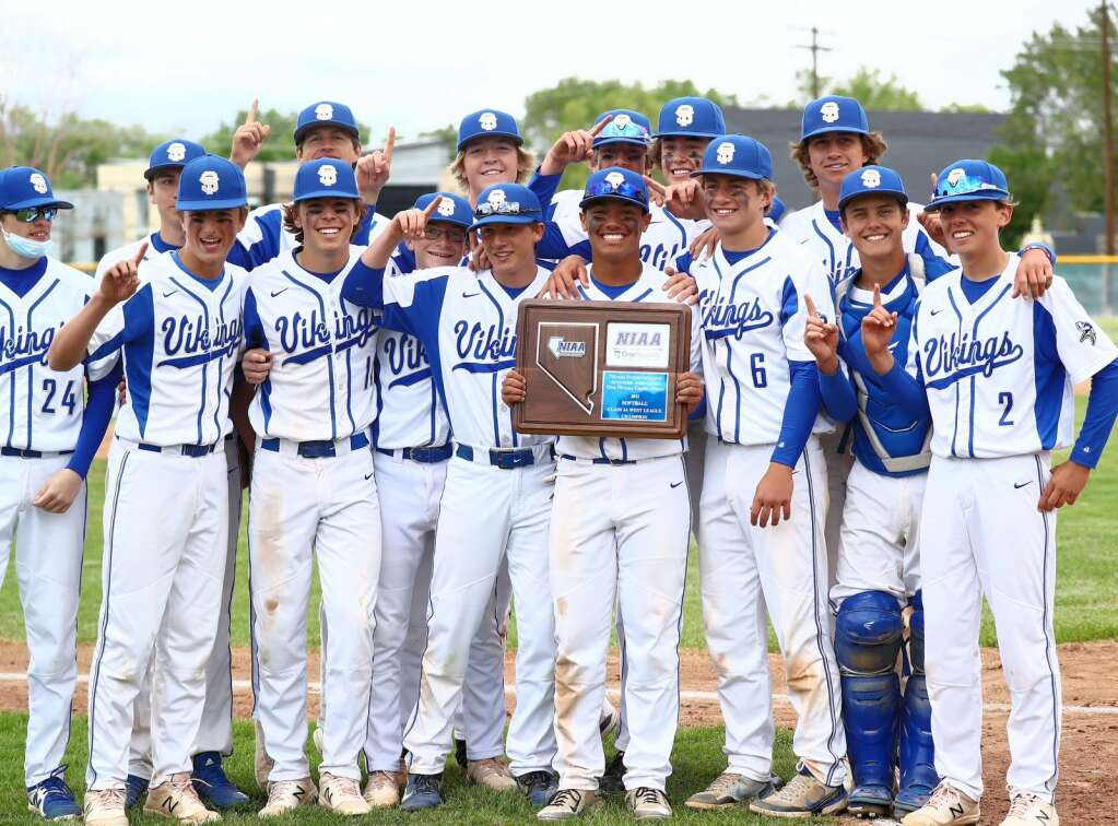 The South Tahoe Vikings capped off a dominant season with the trophy.