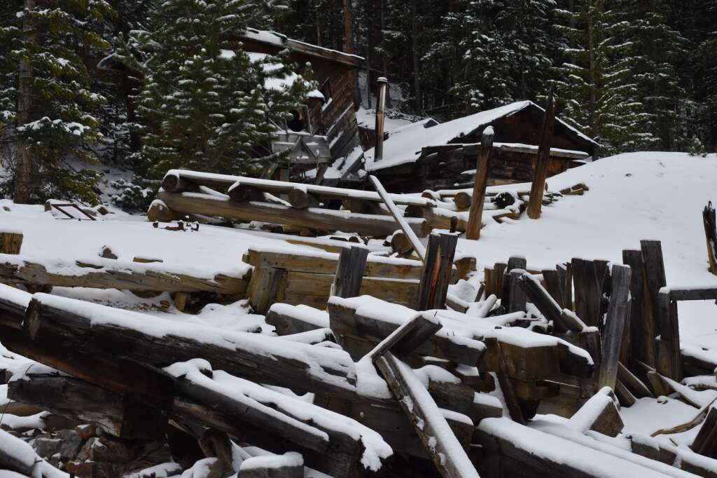 A historic artifact was unearthed in the area pictured at Country Boy Mine. | Taylor Sienkiewicz/Summit Daily News