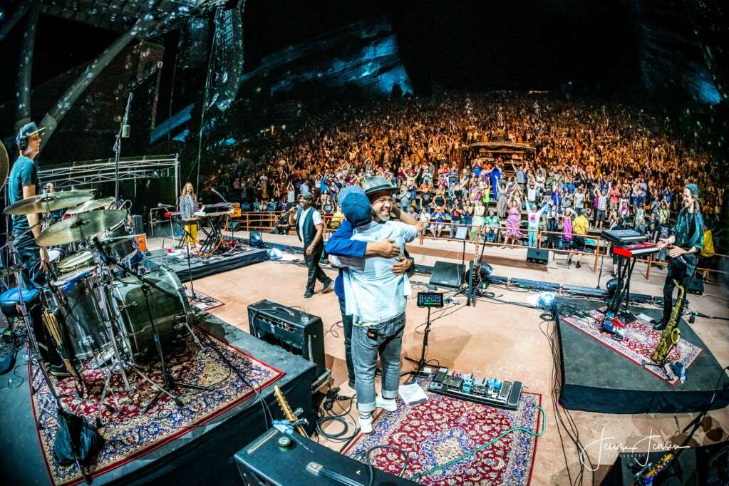 The Motet at Red Rocks on June 4, 2021.