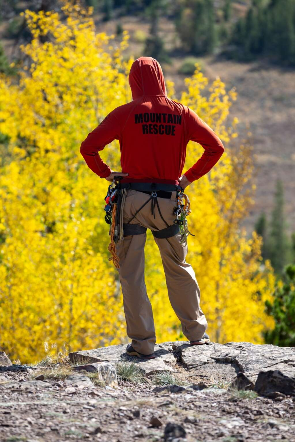 Search and rescue training exercises are being held Friday, September 24 near the Windy Point Campground.  |  Liz Copan / For the Daily News Summit