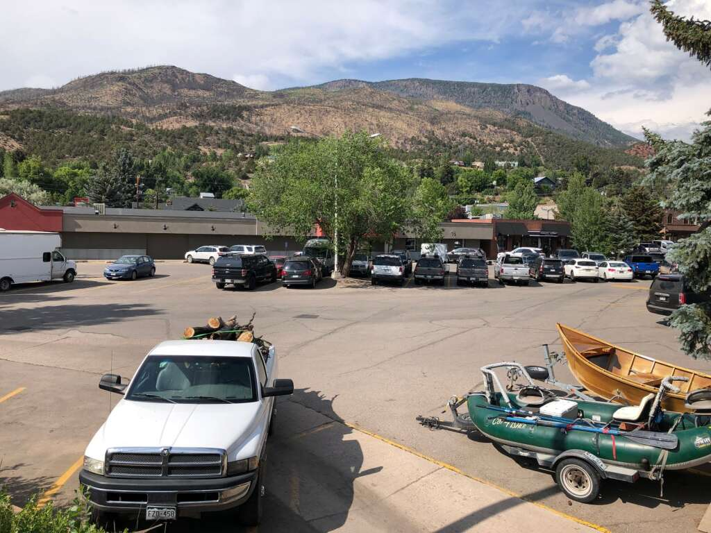 Deep in the heart of Basalt stands the building that formerly house Clark's Market and ReStore. It's now vacant and eyed for redevelopment. | Scott Condon/The Aspen Times