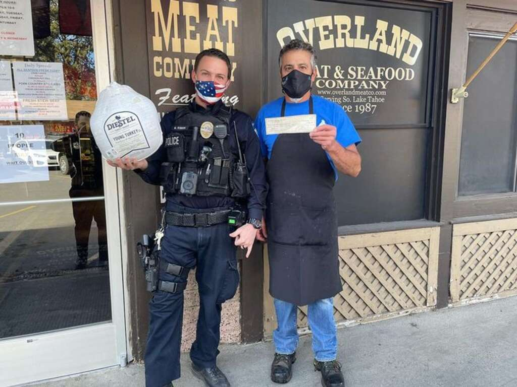 SLTPD purchased 40 turkeys from Overland Meat.