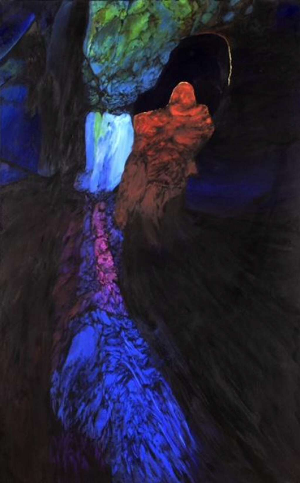 """""""Cave of Perception"""" by veteran and painter Phyllis Thomas"""