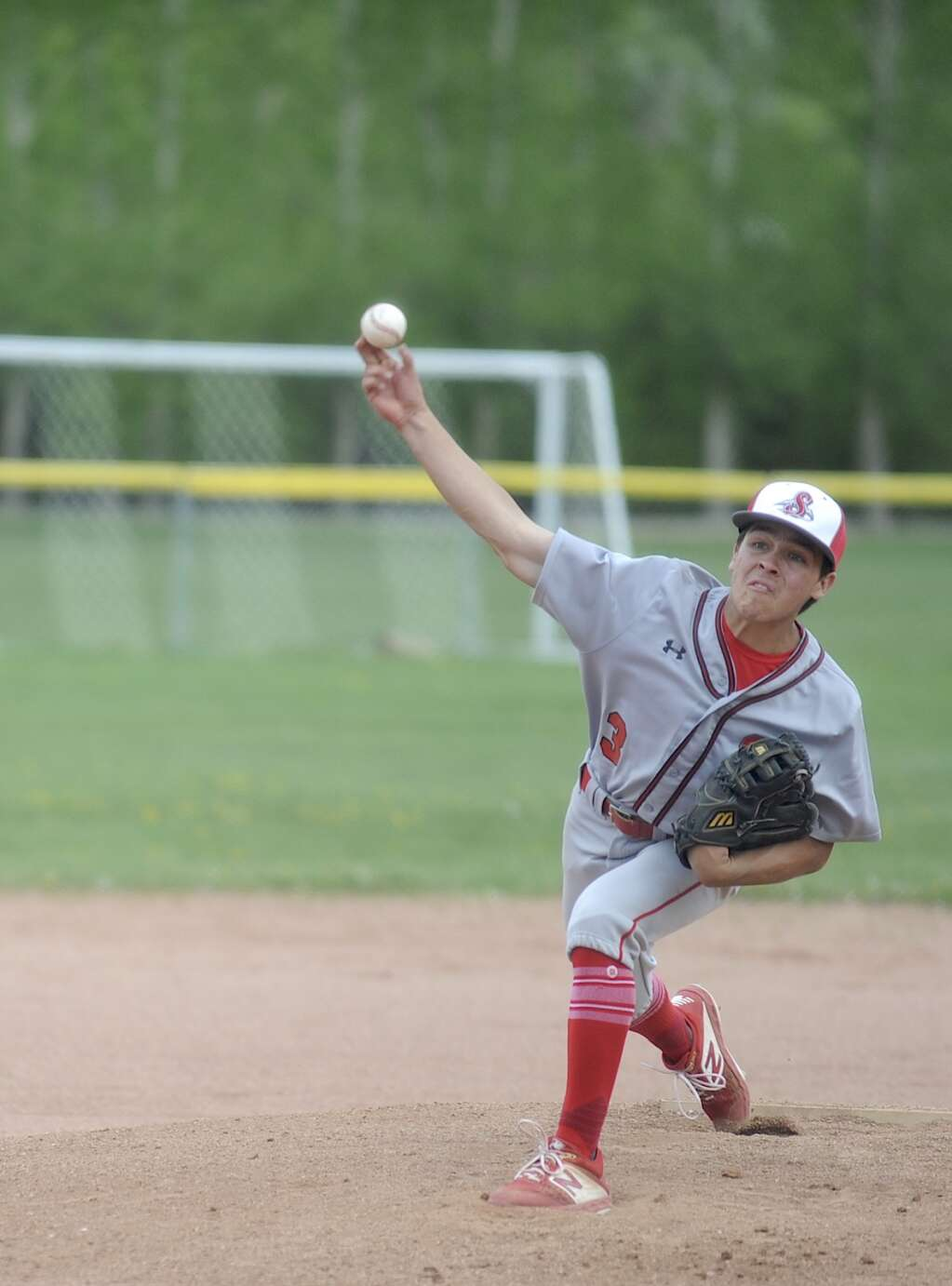 Steamboat Springs senior Austin Ibarra threw a complete game as the Sailors baseball team hosted Glenwood Springs on Tuesday evening.