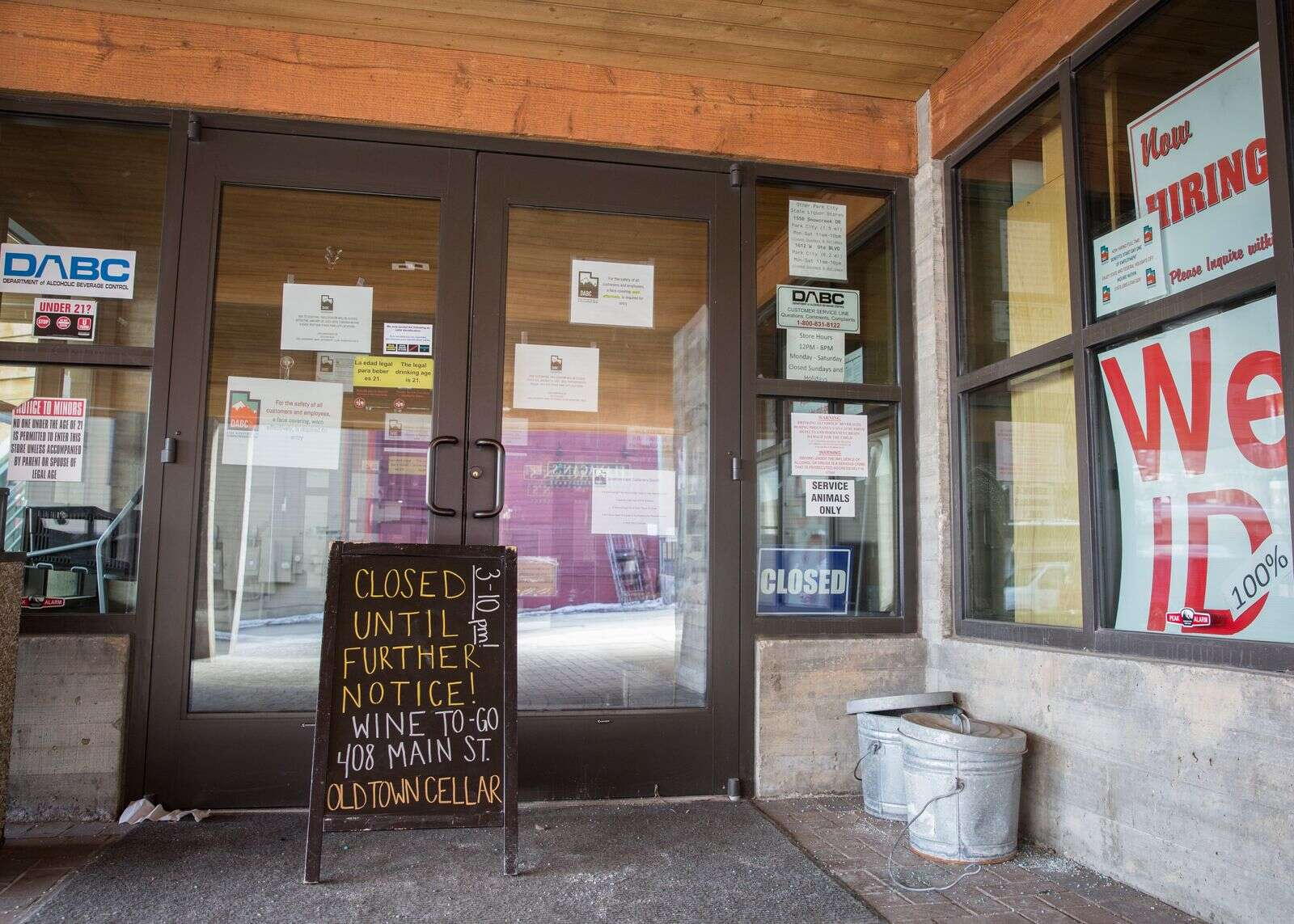 Park City liquor store: There is a shot it reopens soon