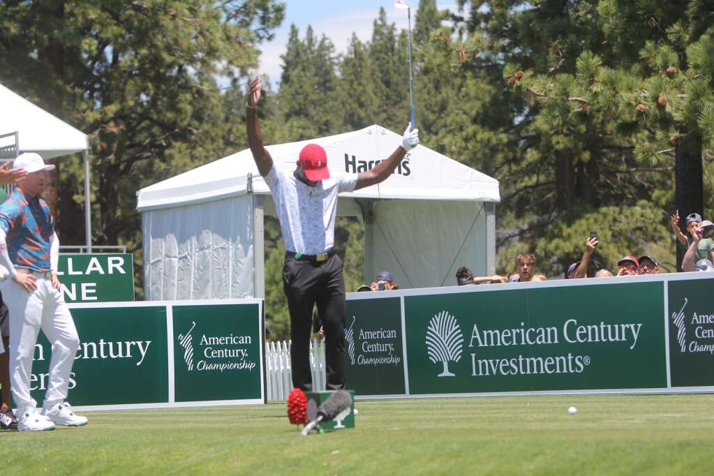 Patrick Peterson celebrated his birthday today. The birthday song played for him on the 17th Tee.