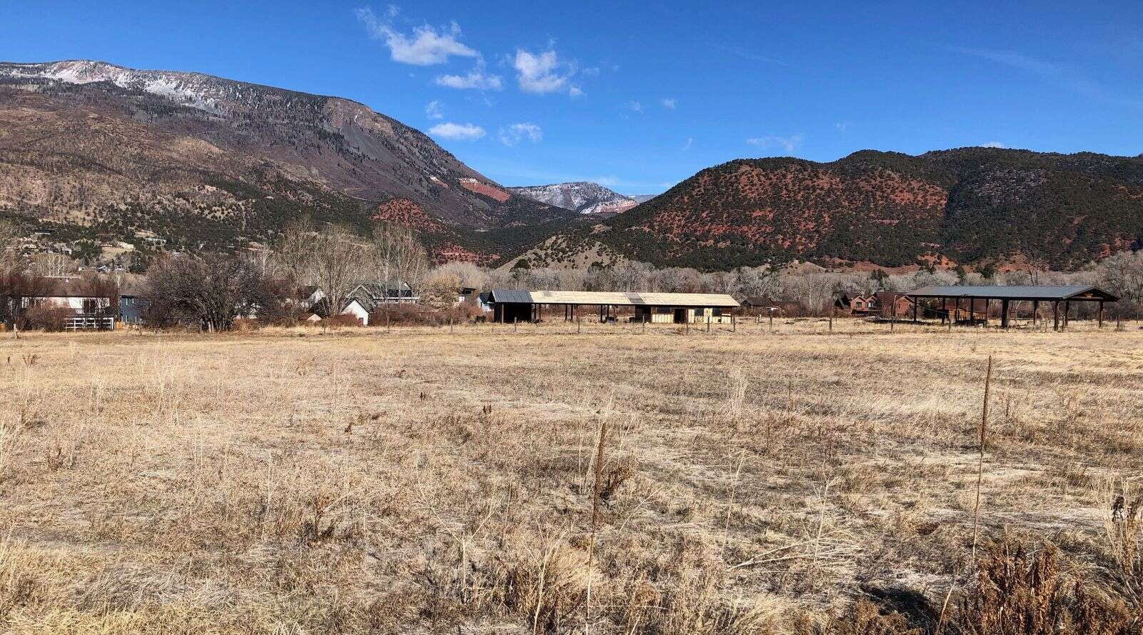 The Stott's Mill property in Southside has been cleaned up and infrastructure work is expected to start this month. Construction on the first phase of the project will start in 2021. (Scott Condon/The Aspen Times)