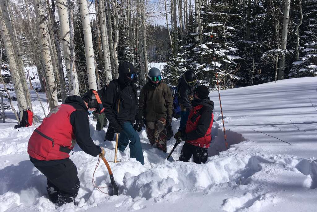 The Park City School District held its fifth annual avalanche safety course on Sunday. | Courtesy of Megan McKenna