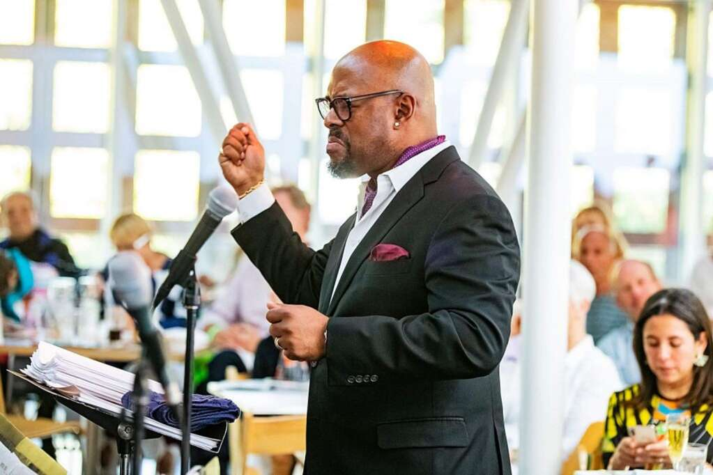 Christian McBride at the JAS June Experience in 2019.