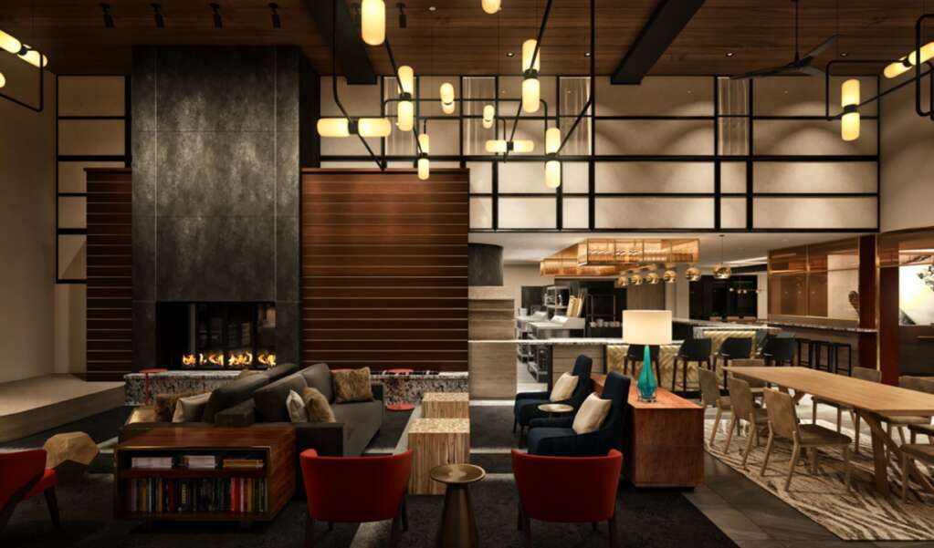 A rendering of renovations to the lounge at The Limelight Aspen   Limelight Hotels/Courtesy image