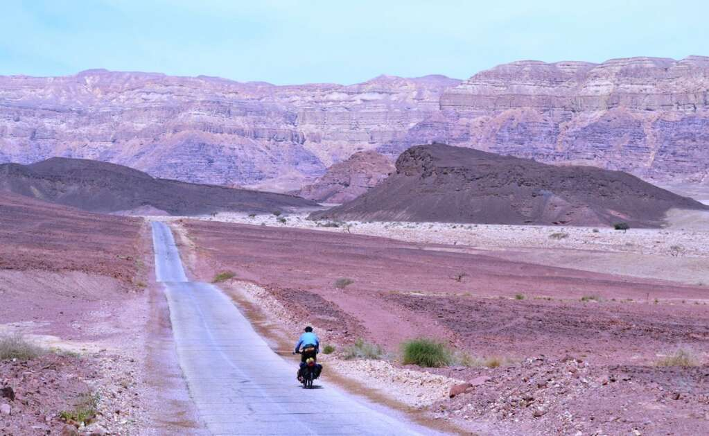Entering the Timna Valley, southern Israel.